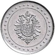 2 Pfennig - Wilhelm I (type 1 - large shield - Pattern) – obverse