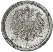 10 Pfennig - Wilhelm II (Pattern) – obverse