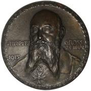 Medal - Admiral von Tirpitz (Unrestricted Submarine Warfare) – obverse