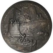 Medal - Admiral von Tirpitz (Unrestricted Submarine Warfare) – reverse