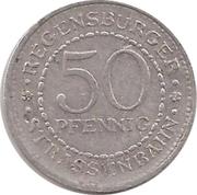 50 Pfennig - Regensburg (tram) – reverse