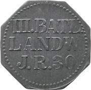10 Pfennig - Saarlouis (III. Batl. Landw. J.R. 30) – obverse