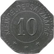 10 Pfennig - Saarlouis (III. Batl. Landw. J.R. 30) – reverse