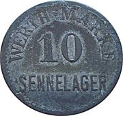 10 Pfennig (Werth-Marke; Sennelager) – obverse