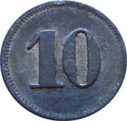 10 Pfennig (Werth-Marke; Sennelager) -  obverse
