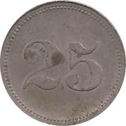 25 Pfennig (Werth-Marke; Sennelager) – reverse