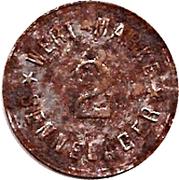 2 Pfennig (Werth-Marke; Sennelager) – obverse