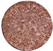 50 Pfennig (Werth-Marke; Sennelager) – obverse