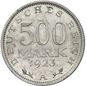 500 Mark (Pattern) – reverse