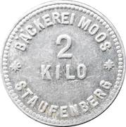 2 Kilo - Staufenberg (Bäckerei Moos) – obverse