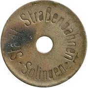 Token - Solingen (Strassenbahn) – obverse