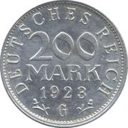 200 Mark – reverse