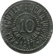 10 Pfennig - Warthelager (KGL. Kommandantur D. Tr. Ü. PL.) – obverse