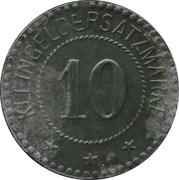 10 Pfennig - Warthelager (KGL. Kommandantur D. Tr. Ü. PL.) – reverse