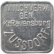 1 Liter - Zussdorf (Milchverw. Gen. Kr. Ravensburg) – obverse