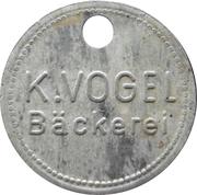 3 kg - K. Vogel Bäckerei (Untergröningen) – obverse