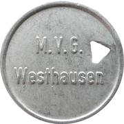 1 Liter Vollmilch - Westhausen (M.V.G.) – obverse