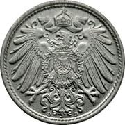 10 Pfennig - Wilhelm II (type 2 - small shield) -  obverse