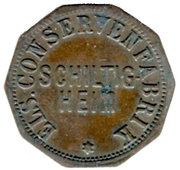 14 Pfennig (Schiltigheim) [Private, Elsass, Conservenfabrik] – obverse