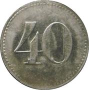 40 Pfennig - Tucher (Nürnberg) – reverse