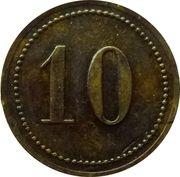 10 Pfennig - Konstanz (Th. Reithinger) – reverse