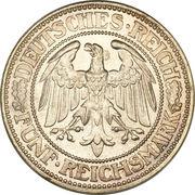 5 Reichsmark -  obverse
