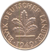 1 Pfennig (Bank of German States) -  obverse