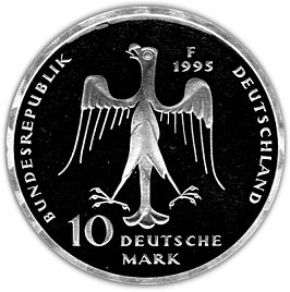 10 Deutsche Mark 800th Anniversary Of The Death Of Henry The Lion