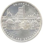 10 Euro (50 Years of Saarland) -  obverse