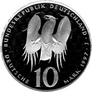 10 Deutsche Mark (Melanchthon) -  obverse