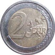 "2 Euro (Bundesländer - ""Hamburg"") -  reverse"
