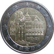 """2 Euro (Bundesländer - """"Bremen"""") -  obverse"""