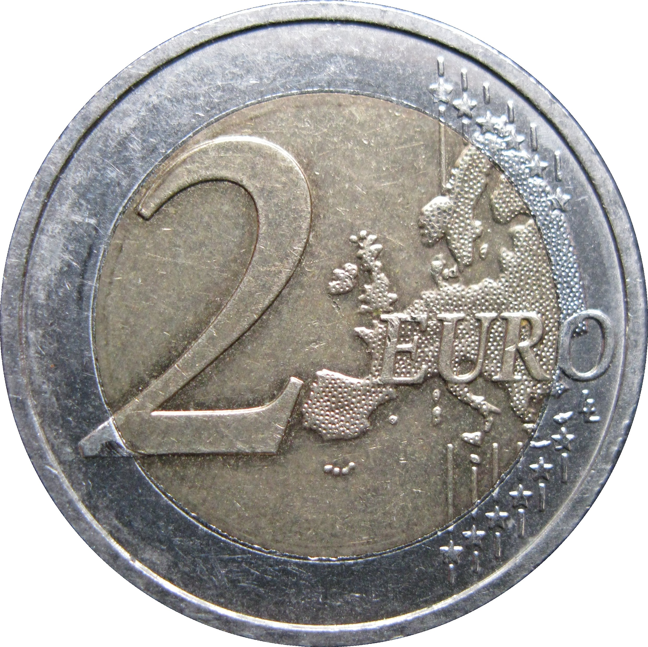 2 Euro 10 Years Of Emu Germany Federal Republic Numista