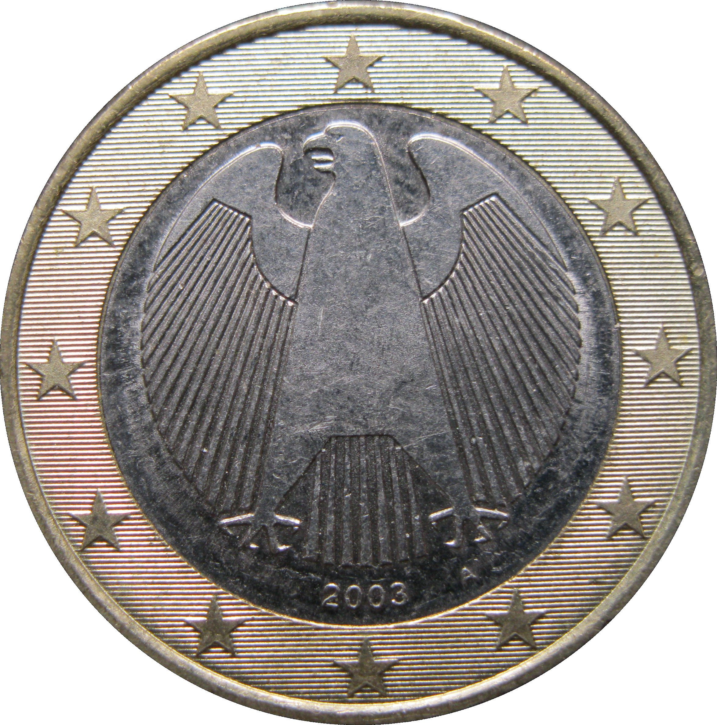 1 euro 1st map germany federal republic numista