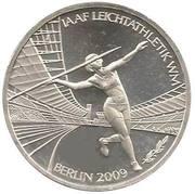 10 Euro (IAAF World Championships) -  reverse