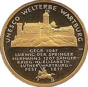 100 Euro (Wartburg) -  obverse