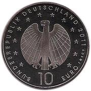 10 Euro (Women's Soccer Championship) -  obverse