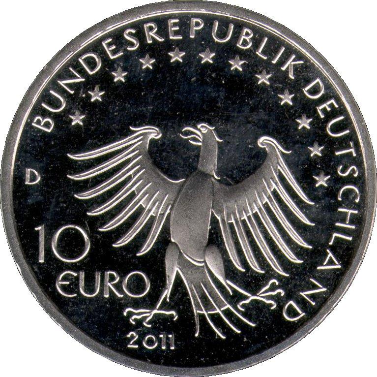10 Euro 500 Years Till Eulenspiegel Germany Federal Republic