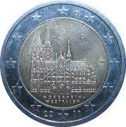 """2 Euro (Bundesländer - """"Nordrhein-Westfalen"""") -  obverse"""