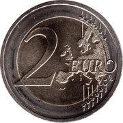 2 Euro (Élysée Treaty) -  reverse