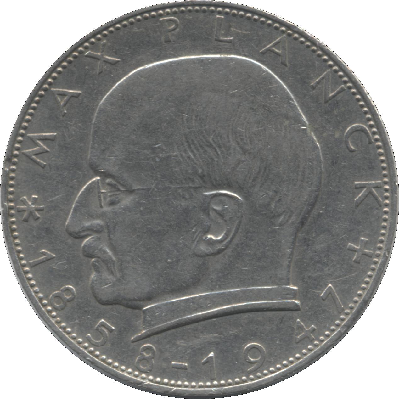 bundesrepublik deutschland 2 deutsche mark coin