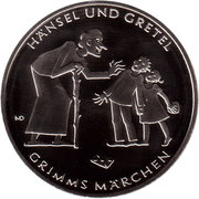 10 Euro (Hänsel and Gretel) -  reverse