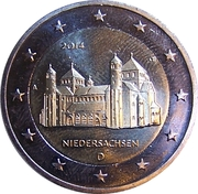 """2 Euro (Bundesländer - """"Niedersachsen"""") -  obverse"""