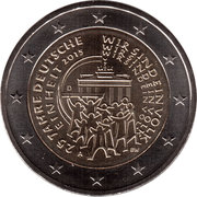 2 Euro (25 Years of German Unity) -  obverse