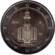 """2 Euro (Bundesländer - """"Hessen"""") -  obverse"""