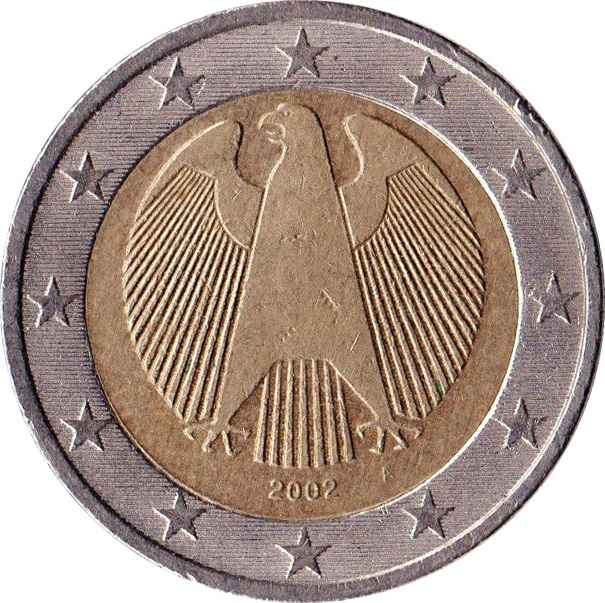 2 euro 1st map germany federal republic numista. Black Bedroom Furniture Sets. Home Design Ideas