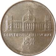 5 Deutsche Mark (100 Jahre Deutsches Reich) -  reverse