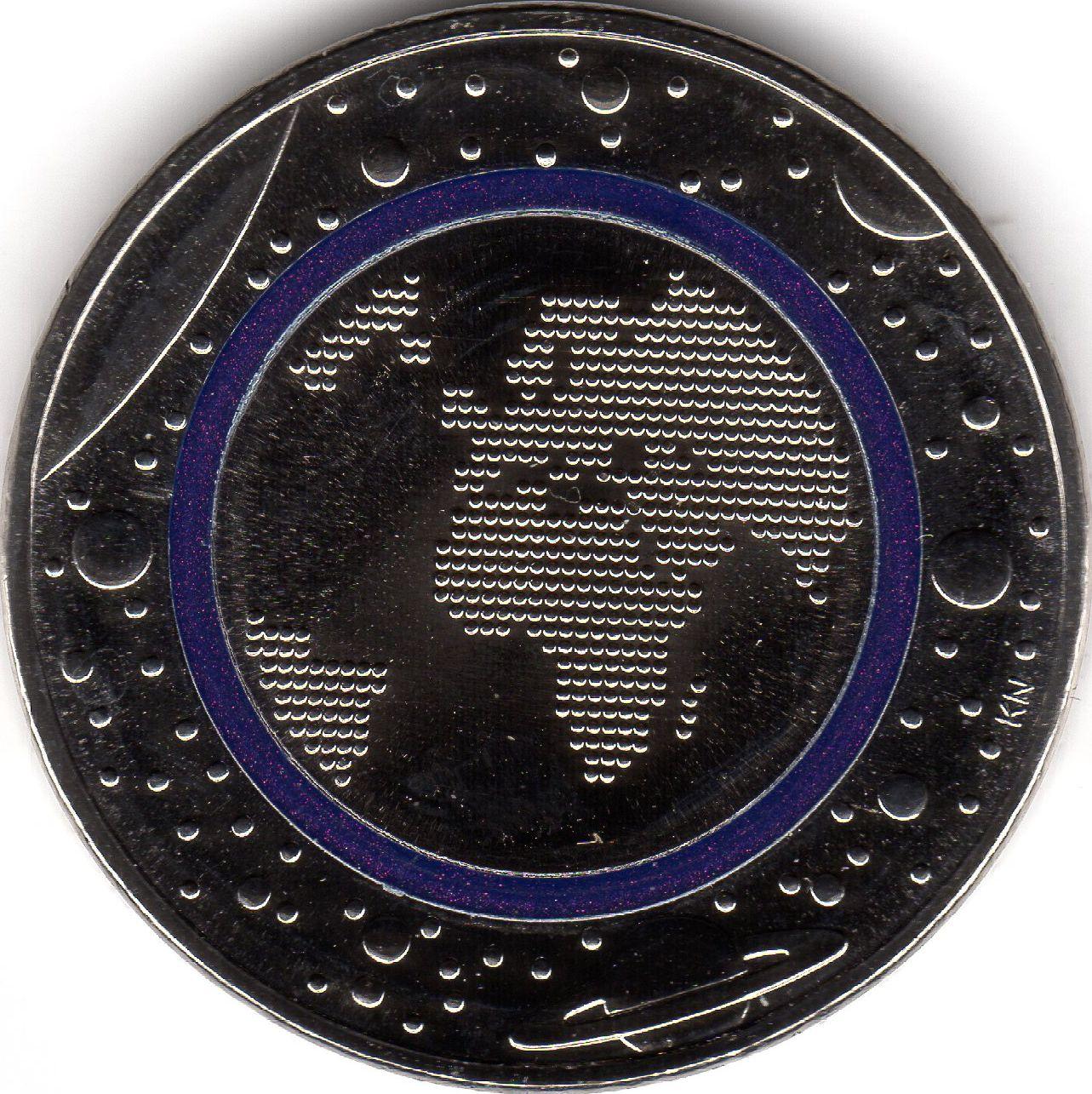 5 euro planet earth germany federal republic numista. Black Bedroom Furniture Sets. Home Design Ideas
