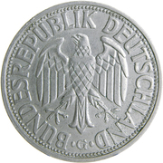 2 Deutsche Mark – obverse