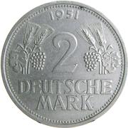 2 Deutsche Mark -  obverse